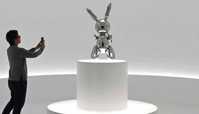 نیو یارک:خرگوش کا مجسمہ 13ارب روپے میں نیلام