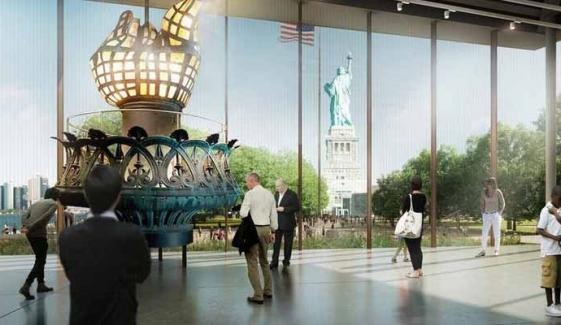 Statue Of Liberty Museum Opens
