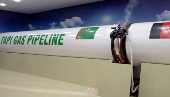 تاپی گیس لائن منصوبے کا سنگ بنیاد اکتوبر میں رکھا جائے گا