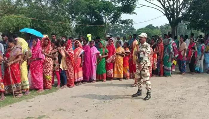 بھارتی انتخابات، آخری مرحلے کیلئے پولنگ کا عمل جاری