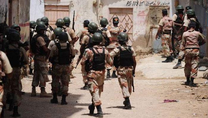 بریگیڈ اور فیروز آباد میں رینجرزکی کارروائی، چھ ملزمان گرفتار
