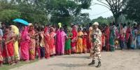 India Electionfinal Round Voting Underway