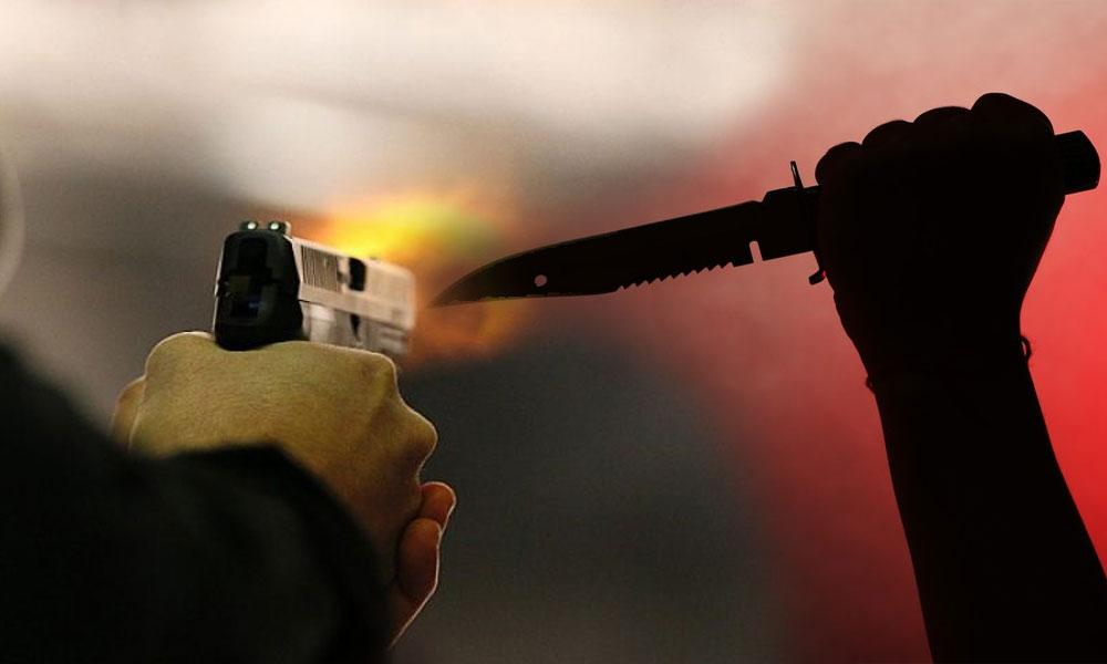 کراچی: چاقو اور فائرنگ سے 4 افراد زخمی
