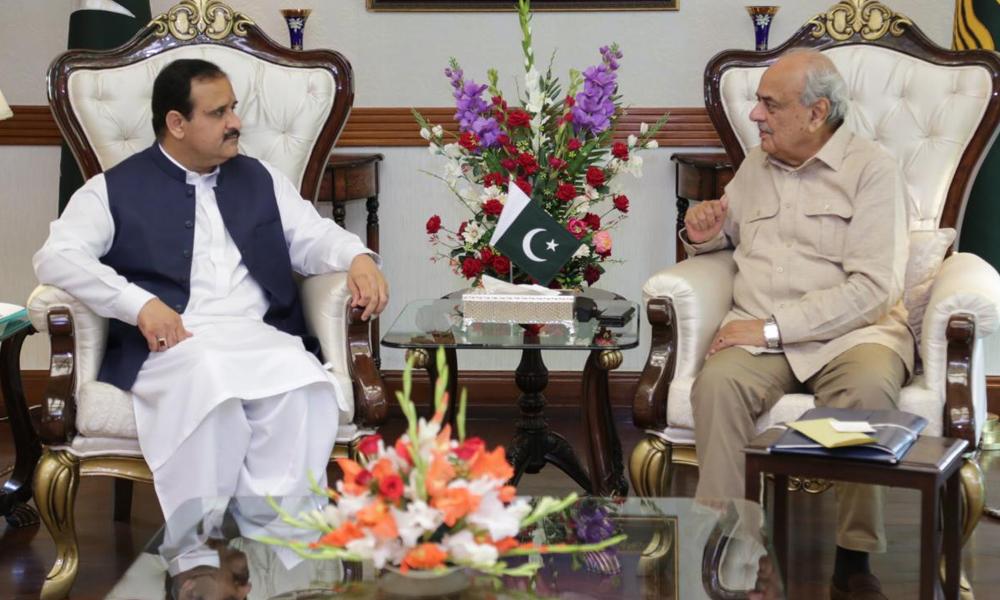 وزیر اعلیٰ پنجاب سے فاقی وزیر داخلہ کی ملاقات