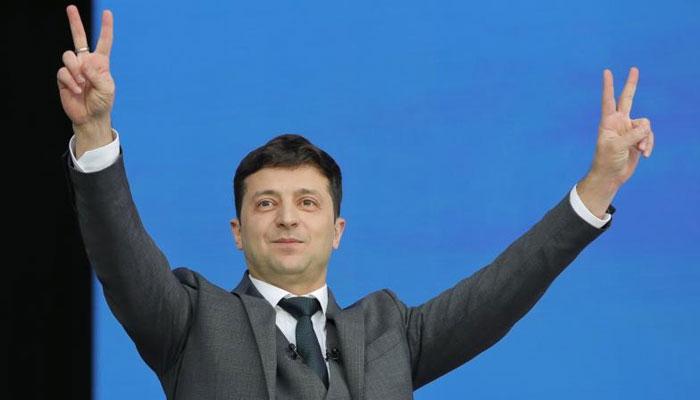 یوکرین کے نئے صدر نے عہدے کا حلف اٹھا لیا