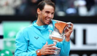 Nadal Win Rome Masters Tennis Title
