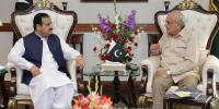 Federal Interior Minister Ijaz Shah Meets Cm Punjab Usman Buzdar