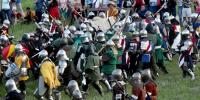Armour Clad Warriors Clash In Medieval Battles In Ukraine
