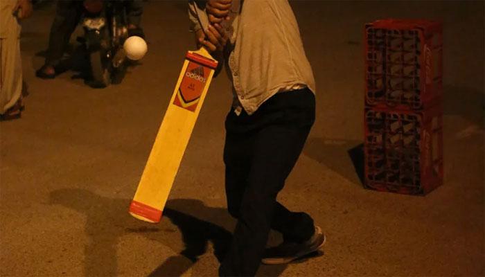 کراچی، کرکٹ میچ کے دوران جھگڑا، ایک شخص زخمی