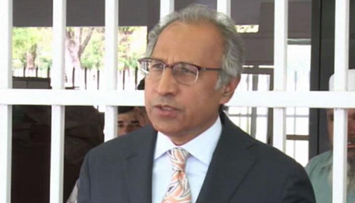 'حفیظ شیخ کوئی ٹوئٹر اکائونٹ نہیں'
