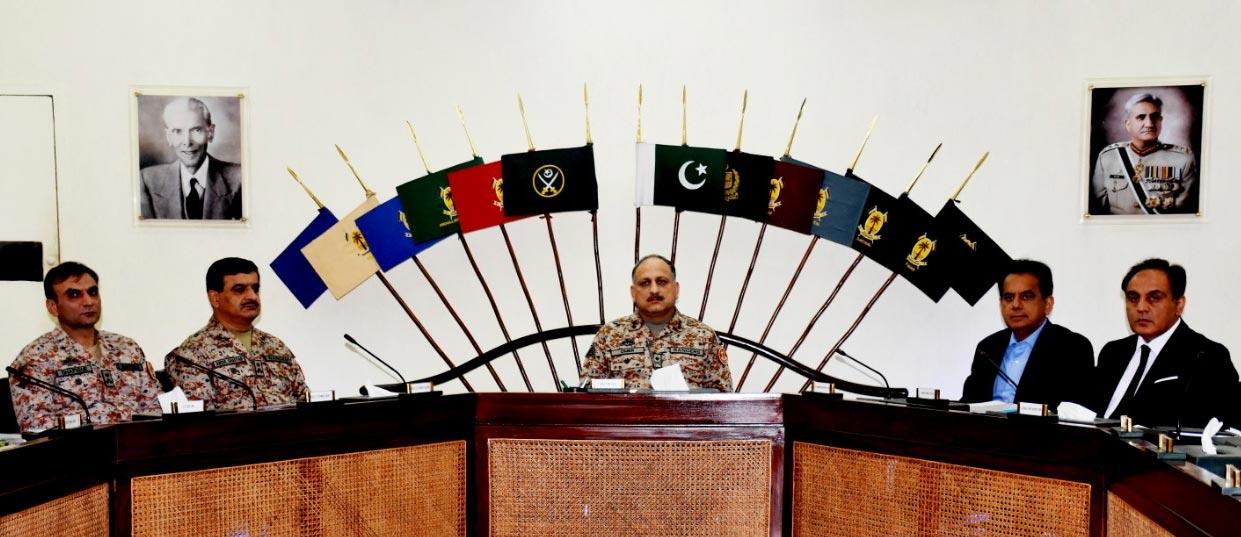 کراچی:ڈی جی رینجرز کی زیرصدارت اجلاس،یوم علیؓ پر سیکورٹی کا جائزہ