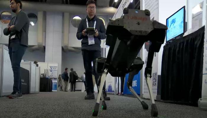 مونٹریال میں انٹرنیشنل روبوٹکس کنونشن کا آغاز