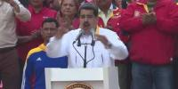 Venezuela President Maduro Dances With Supporters On Anniversary Of Election Victory