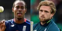 Jofra Archer Named In Englands Cricket World Cup Squad As Willey Misses Out