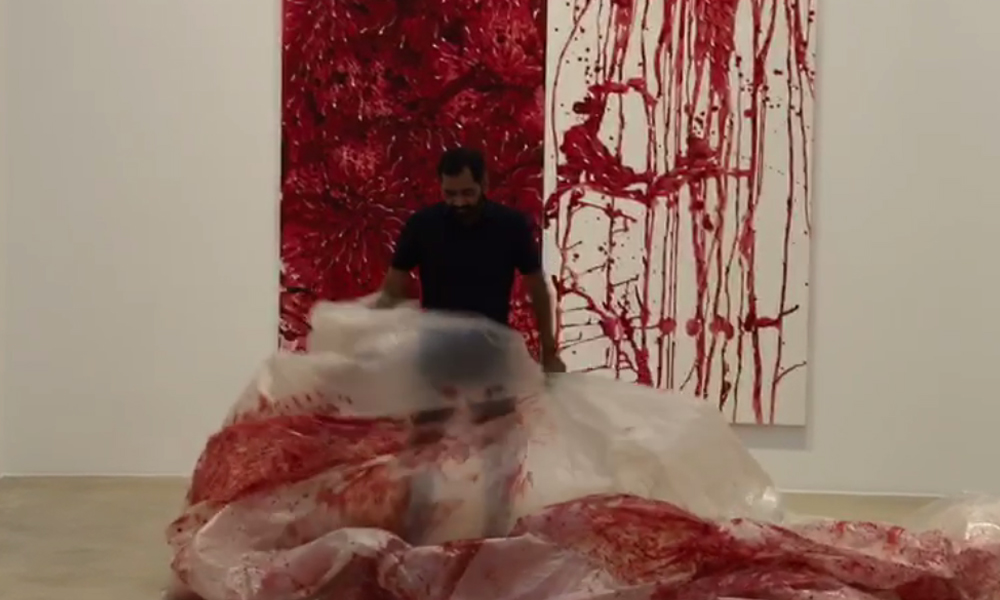 فرانس: معروف آرٹسٹ عمران قریشی کے فن پاروں کی نمائش