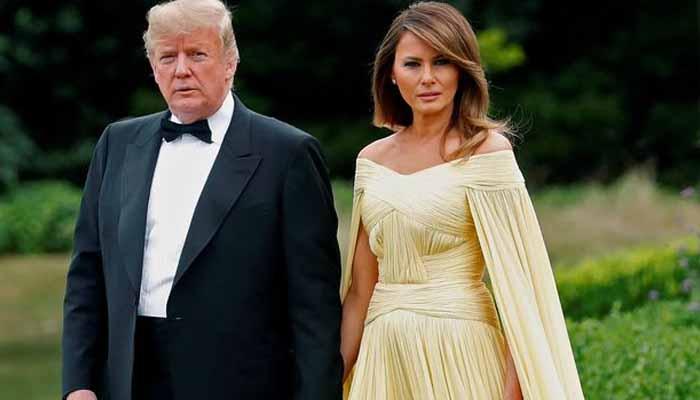 ٹرمپ اور میلا نیا اگلے ماہ یورپی ملکوں کا دورہ کریں گے