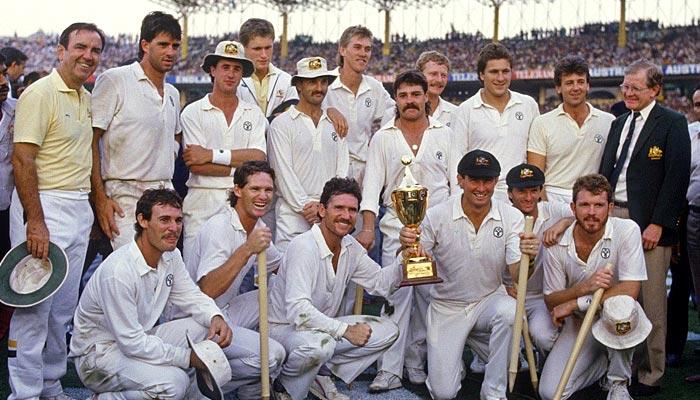1987،: برصغیر پاک و ہند میں آسٹریلیا عالمی چیمپئن بنا