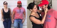 Kareena Kapoor Khan Pulling Saif Ali Khans Moustache
