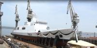 Launching Of Maritime Petrol Vessel In Karachi Shipyard