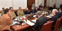 Pm Imran Khan Chairs Meeting Of National Security Committee