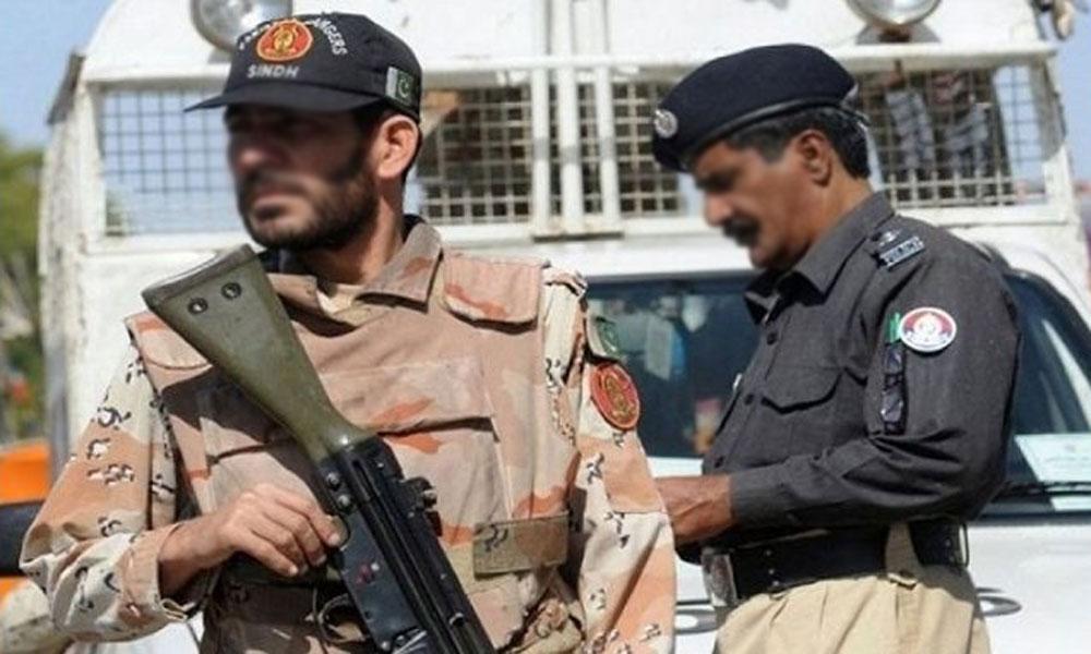 کراچی: کھوکھراپار میں پولیس و رینجرز کا کومبنگ آپریشن