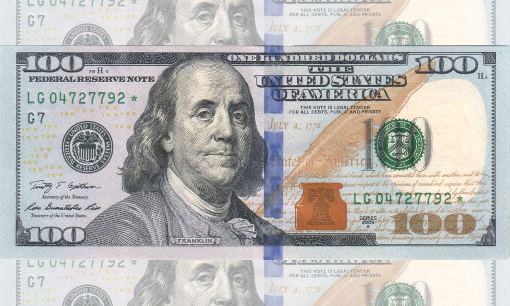 انٹر بینک میں ڈالر 10 پیسے سستا