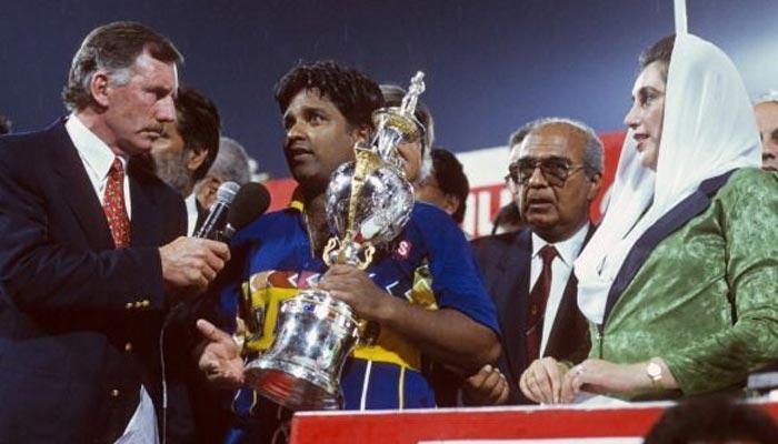 1996: لاہور میں سری لنکا عالمی چیمپئن بنا