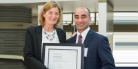 Dr Faisal Khosa Named The Young Investigator Award