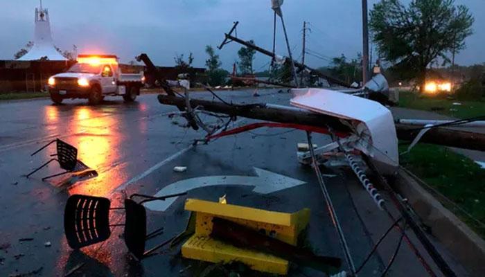 میسوری میں طوفانی بگولوں سے 3 افراد ہلاک
