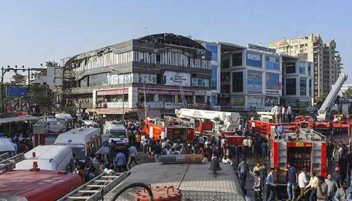 بھارت: بلڈنگ میں آگ لگنے سے 15طالب علم ہلاک