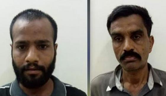Karachi Two Suspects Arrested From Golimar On The Charges Of Dacoits