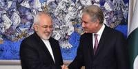 Javad Zarif Meets Shah Mehmood Qureshi