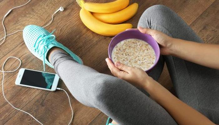 ورزش سے پہلے کیا کھائیں؟