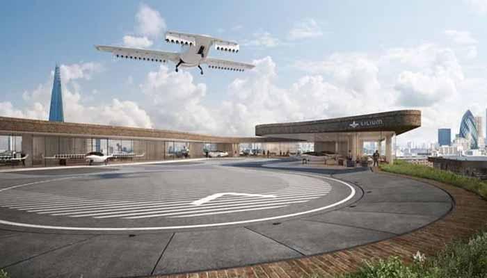 جرمنی:مسافروں کے لیے اڑن ٹیکسی کی کامیاب پرواز