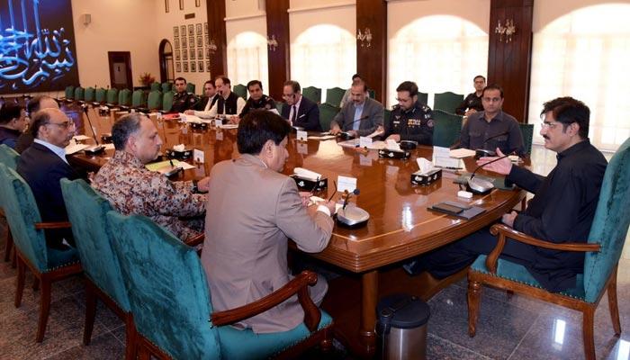وزیراعلیٰ سندھ کی ٹارگٹڈ آپریشن مزید تیز کرنے کی ہدایت
