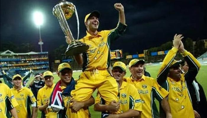 2003: آسٹریلیا تیسری مرتبہ ورلڈ چیمپئن بنا
