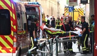 Blast In France Injured 13 People