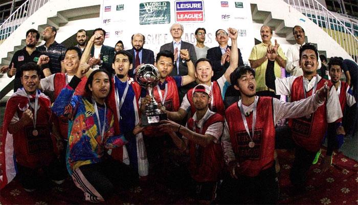 پاکستان فٹبال ٹیم کا بحرین میں تربیتی کیمپ جاری