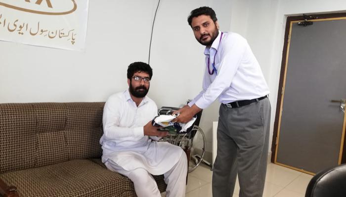 سول ایوی ایشن پشاور کے عملے کی ایمانداری