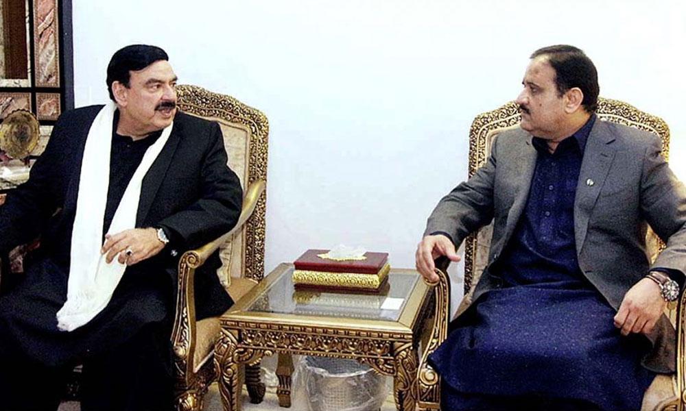 عثمان بزدار کی شیخ رشید احمد سے ملاقات