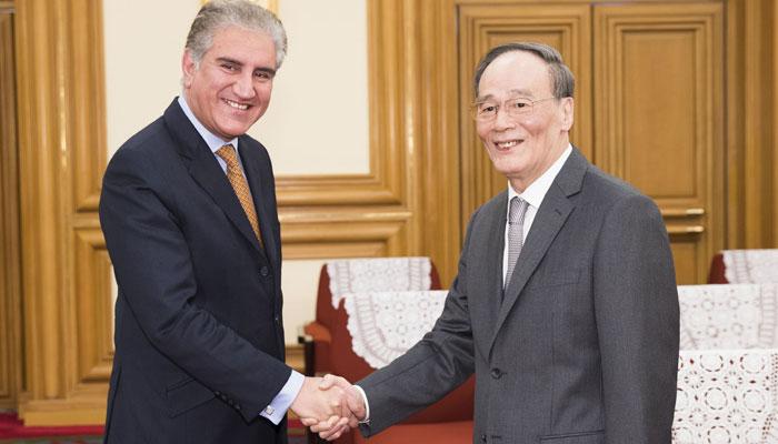 چینی نائب صدر کی اعلیٰ سطح وفد کے ہمراہ پاکستان آمد