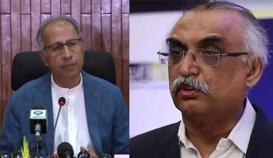 Shabbar Zaidi Briefing To Hafeez Shaikh On Budget Suggestions