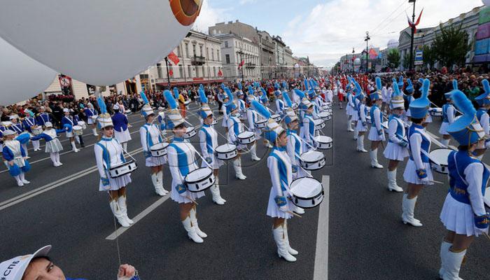روس، سینٹ پیٹرز برگ کے قیام کے 316 برس مکمل