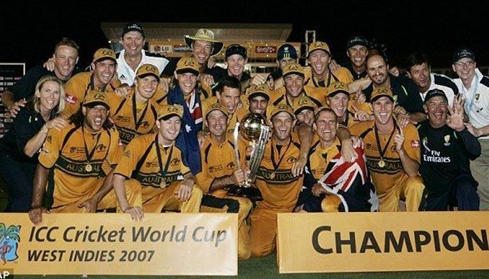 2007: آسٹریلیا کامیاب دفاع کے بعد عالمی چمپئن برقرار