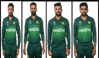 Pakistan Cricket Team Photo Shoot For Cricket World Cup 2019
