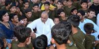 Islam Teaches Best To Deal With Orphans Shah Farman