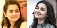 Dimple Girl Alia Bhatt In Bollywood And Hania Aamir In Pakistan