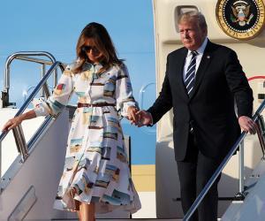 امریکی صدر ڈونلڈ ٹرمپ کادورہ جاپان