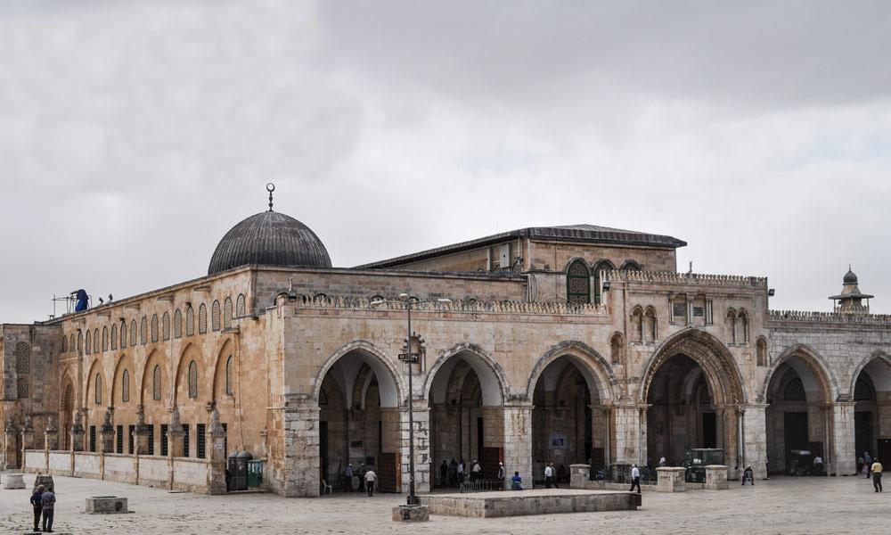 مسجد اقصیٰ اور گنبد صخرہ کی تعمیر