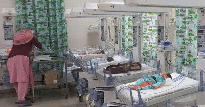 ساہیوال: اسپتال میں اے سی کی خرابی سے 5 بچوں کی موت کی تردید
